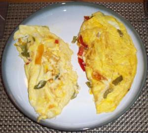 Omega-3 vs. Pasture Omelet